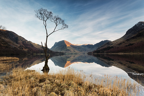 Reflections Of Buttermere by Dave Brightwell