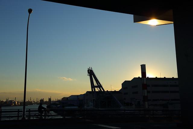 橋上の歩道