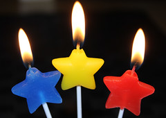 7.Birthday Candles