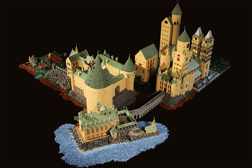 Hogwarts by Bippity Bricks, on Flickr