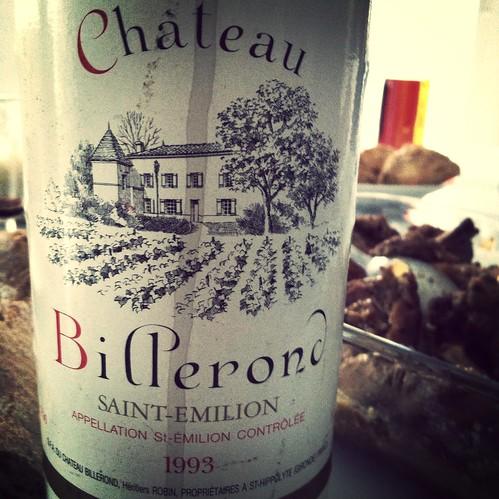 Château Billerond, #saintemilion 1993