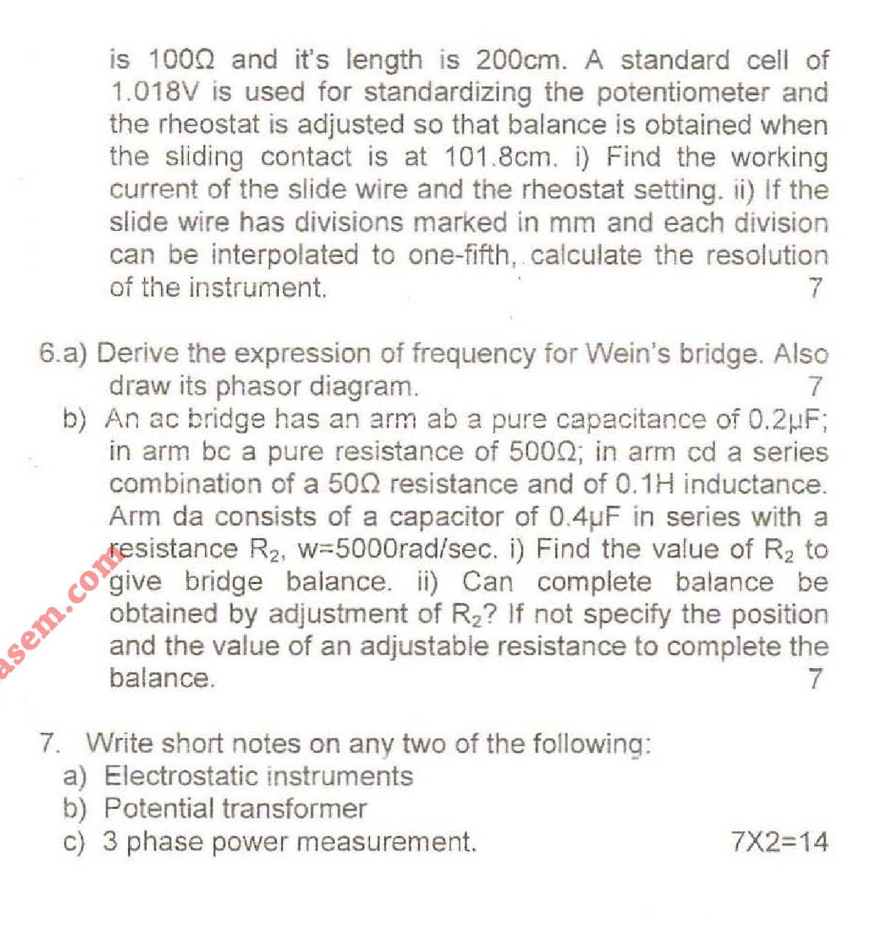 NSIT Question Papers 2008 – 3 Semester - End Sem - IC-204