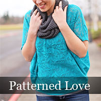 Grab button for Patterned Love