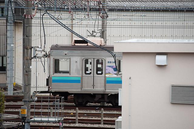 東急電鉄電鉄8500系8614F 長津田工場入場