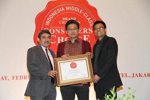 Indonesia Middle-Class Brand Forum 2013-Adira Finance