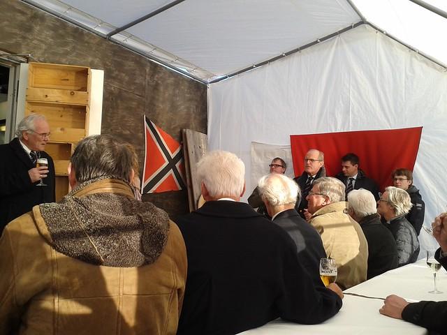 Besichtigung der Baustelle des Norddeutschen Regatta Vereins