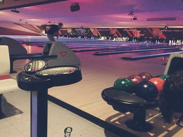 Bowling at Strike N Spare Lanes!
