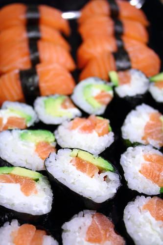 Sushi maki & nigiri