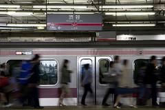 東横線渋谷駅を見納めする