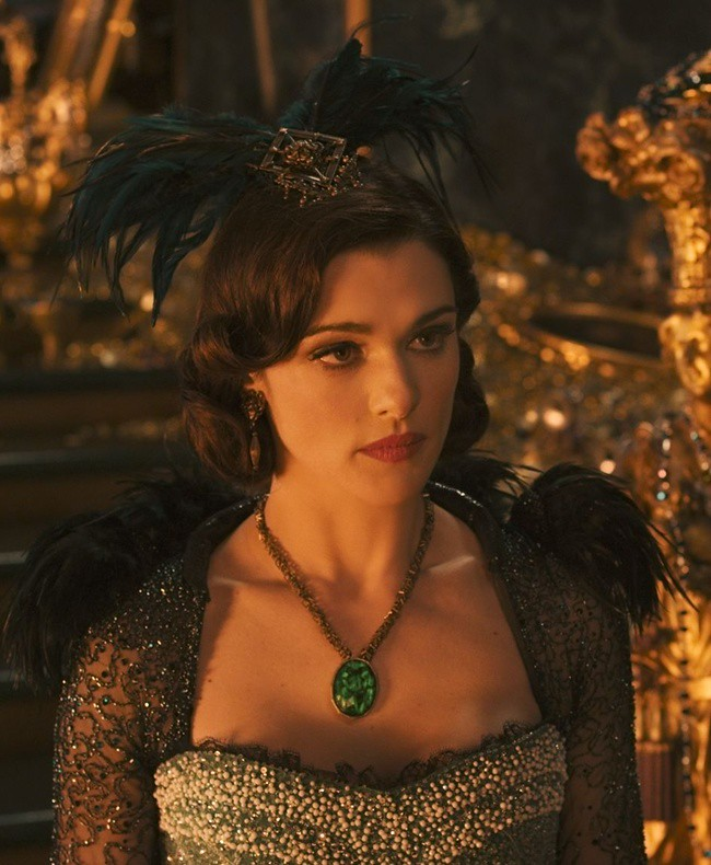 5 Evanora played by Rachael Weisz adorned with thousands of Swarovski Elements