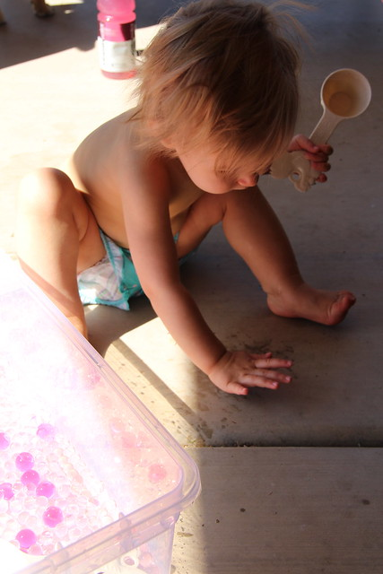 Water Bead Sensory Play