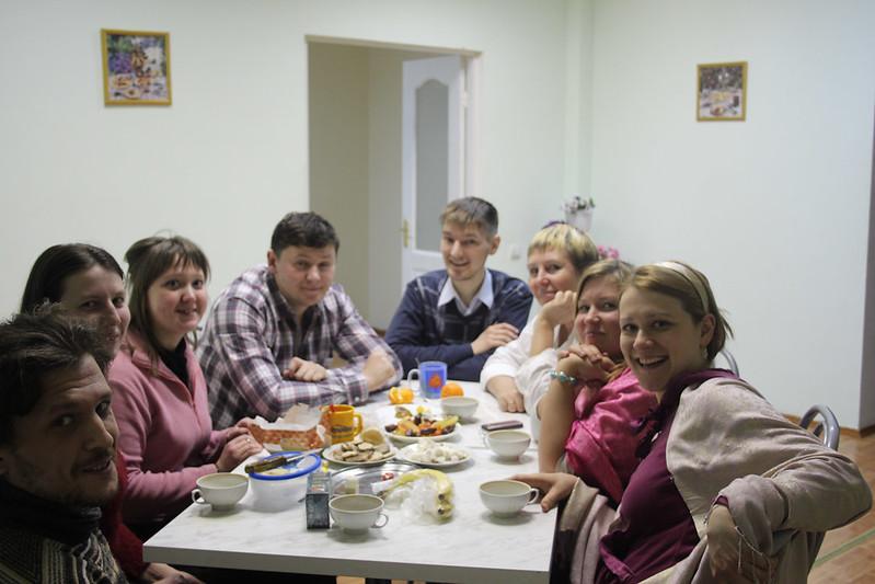 Только приехали. Выездной миссионерский семинар 7-10 марта 2013