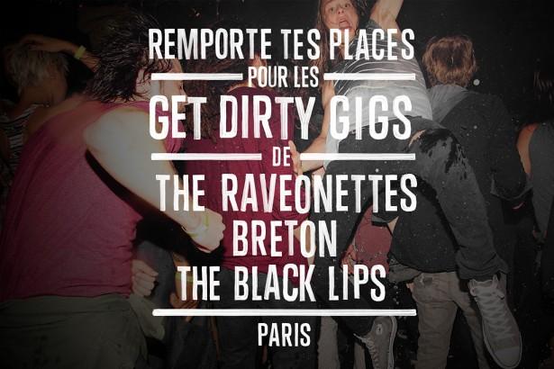 Converse Dirty Gigs - Raveonettes - Breton - Black Lips