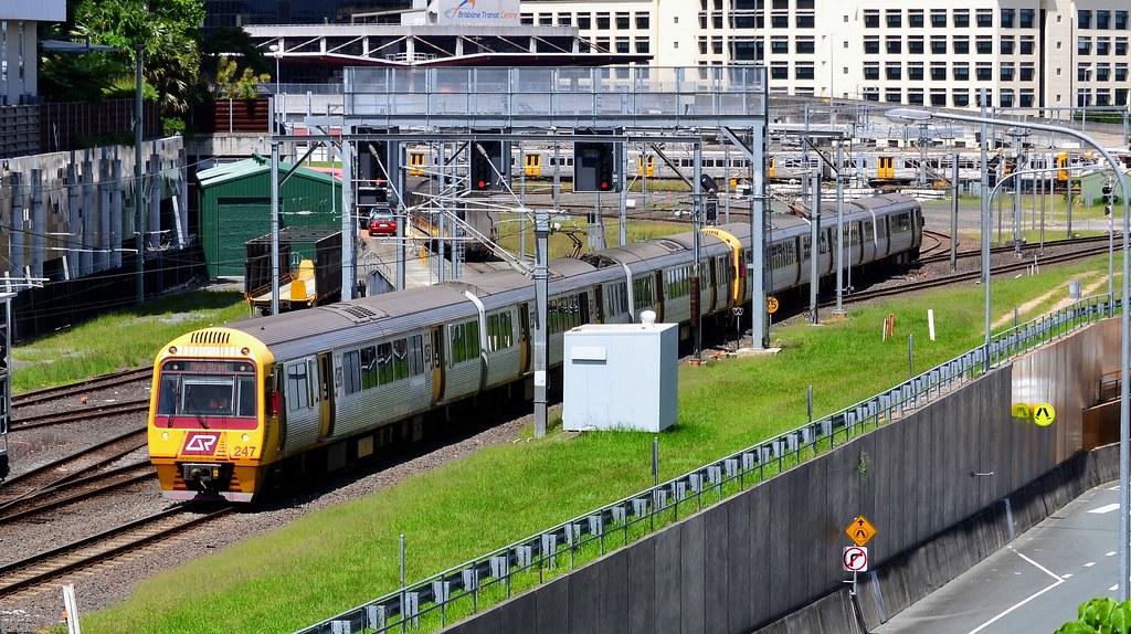 Queensland Rail by Shawn Stutsel