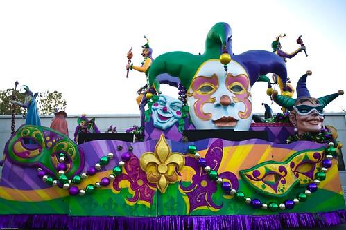 Universal Orlando Mardi Gras 2013