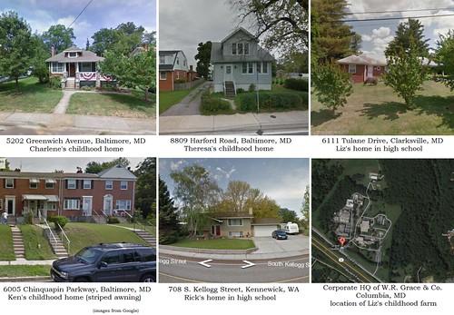 Where Maureen's grandparents grew up