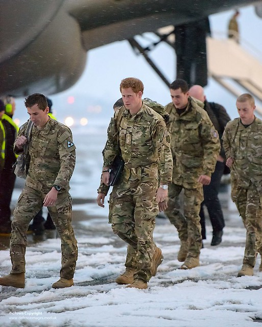 HRH Prince Harry Returning To The UK From Afghanistan