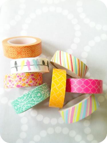 washi tape.