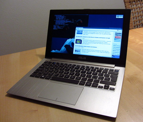 Slackware Linux on an Asus UX21A - blinkenlights ch