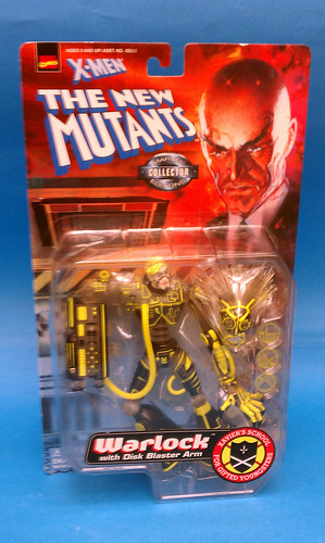 New Mutants Warlock package