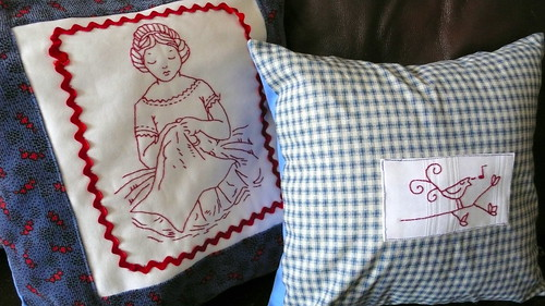 Throw Pillows restyle