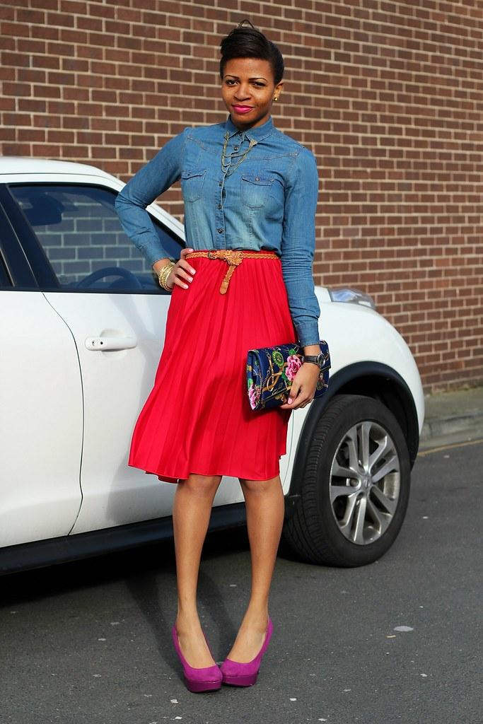 fashioncadet, street style, street style blogger, denim trend, denim top