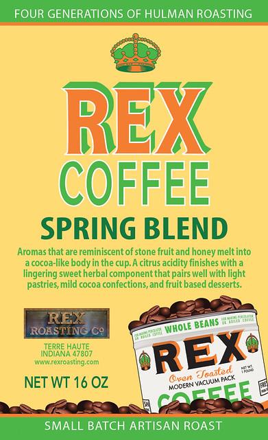 rex coffee spring blend flickr photo sharing