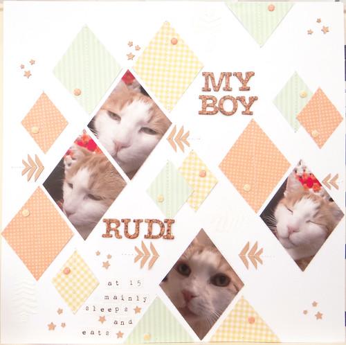 My boy Rudi