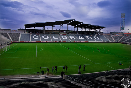 Preperation for the USMNT match on March 22nd 2013 in Colorado by Corbin Elliott Photography