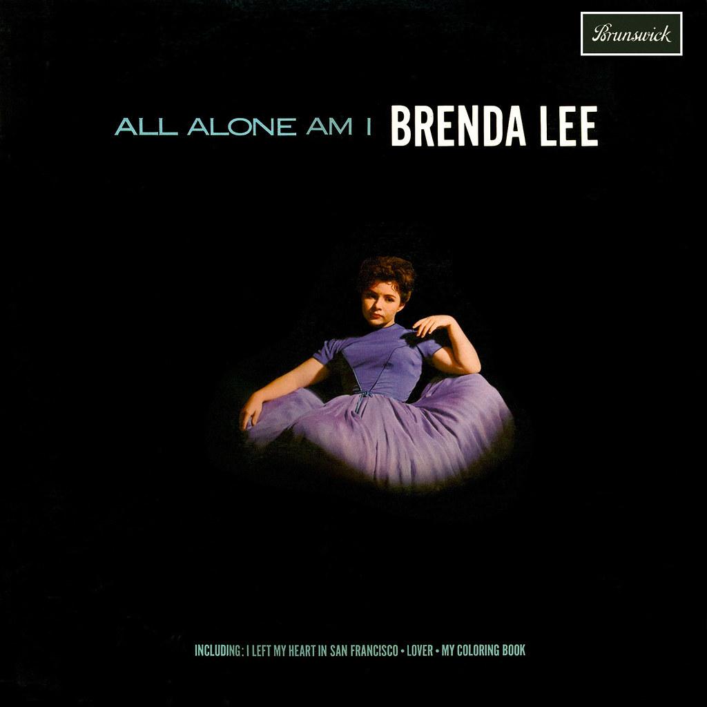 All Alone Am I Lyrics