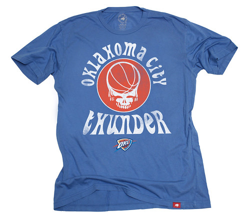 Oklahoma City Thunder Grateful Dead Shirt