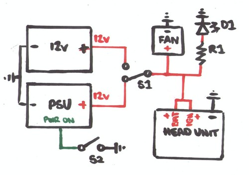 Boombox Wiring Diagram