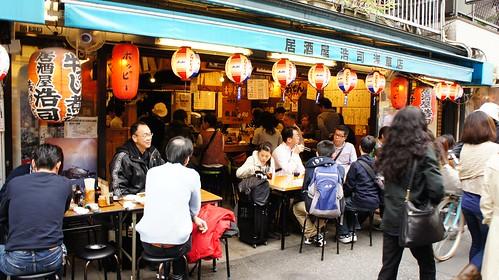 Restaurante en Asakusa