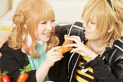 Cosplay Of An Anime Couple Tooru Nakamura Flickr