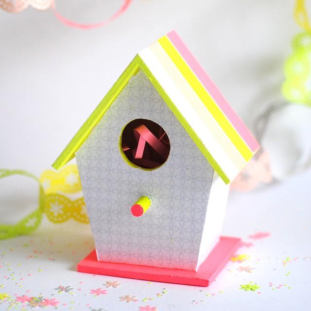Mini Easter bird house