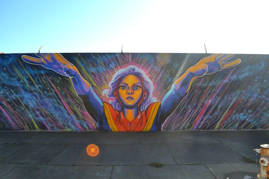 Craig Stucky, Street Art, Mural, Oakland, West Oakland.
