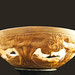 Ghost Alley - Lancaster - carved wooden bowl - 4 in X 13.5 in round $270