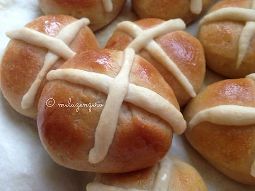 Hot cross Buns con Lievito Madre