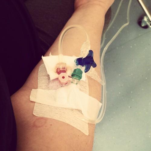 Hallo Krankenhaus  :'(