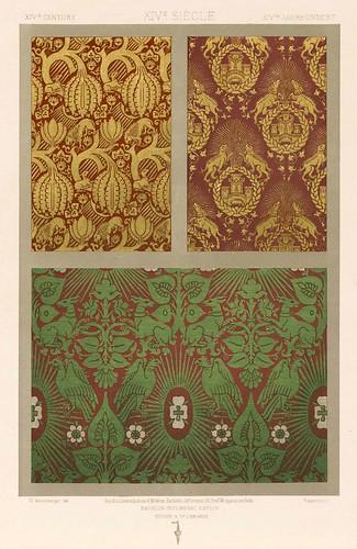 004-L'ornement des tissus recueil historique et pratique-Dupont-Auberville-1877- Biblioteca  Virtual del Patrimonio Bibliografico
