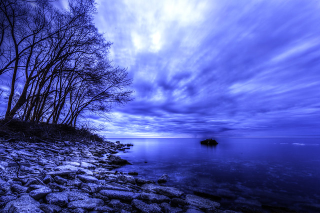 Lakeshore Moonlight