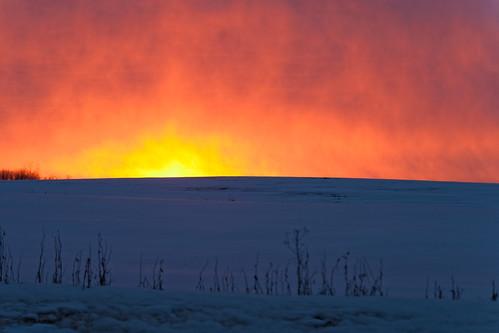 winter sunrise scenic ©jrj