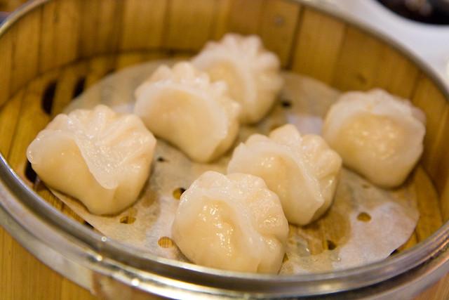 Crystal shrimp dumplings, La Vie en Szechuan