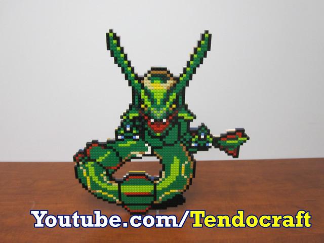 Photo - Lego pokemon rayquaza ...