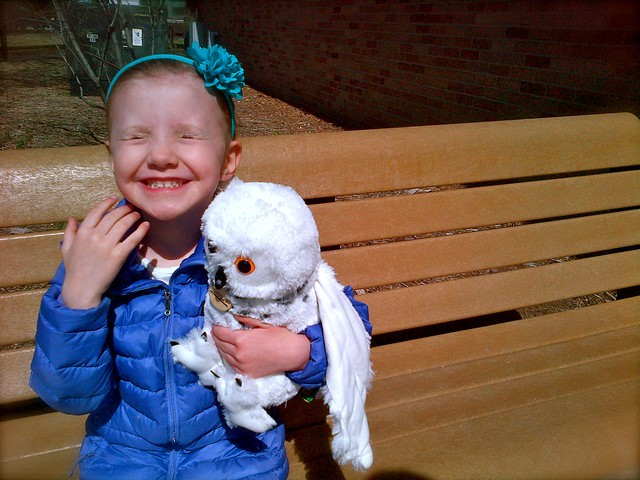 Flitterwick and Happy Zed - Detroit Zoo, Easter 2013
