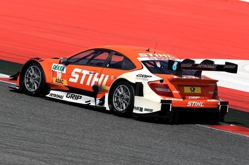Roberto Merhi Test DTM Circuit de Catalunya 2013