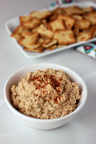 Chipotle Almond Spread/Dip  (w/other Favor Variations) - Gluten-free, Vegan