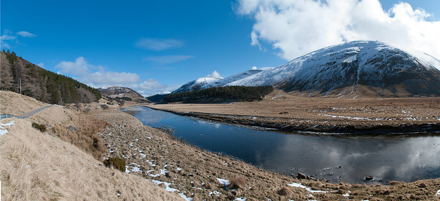Findhorn valley panorama merged