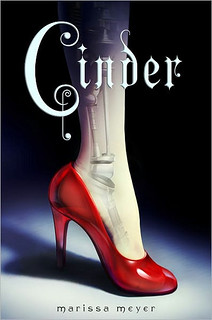 The cover of Cinder