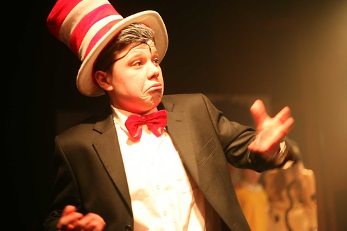 Charlie West as the Cat in the Hat in FCT 2013 production of Seussical. Photo © Mark Gorman